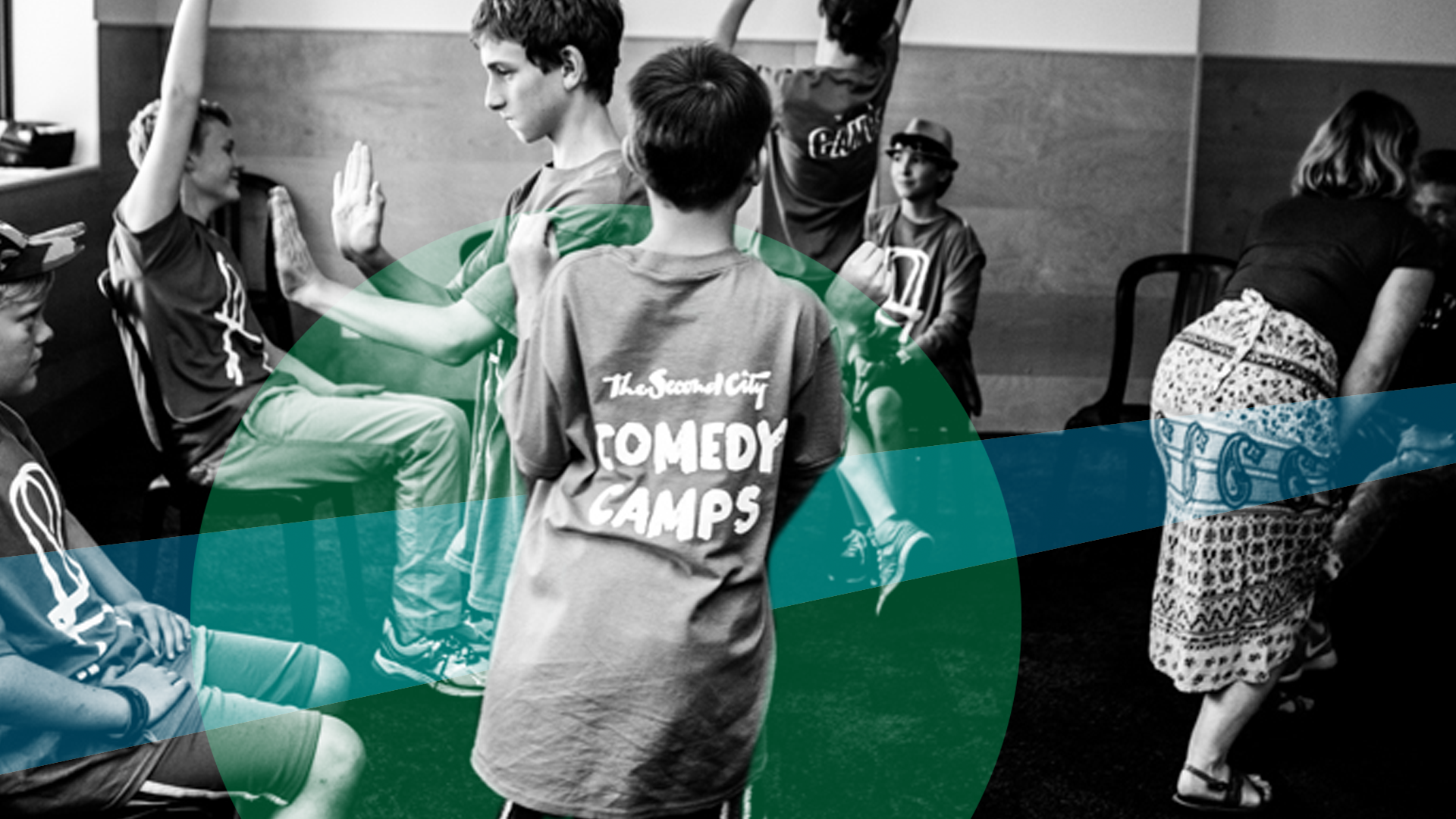 French Improv Games Camp (ages 10-17)