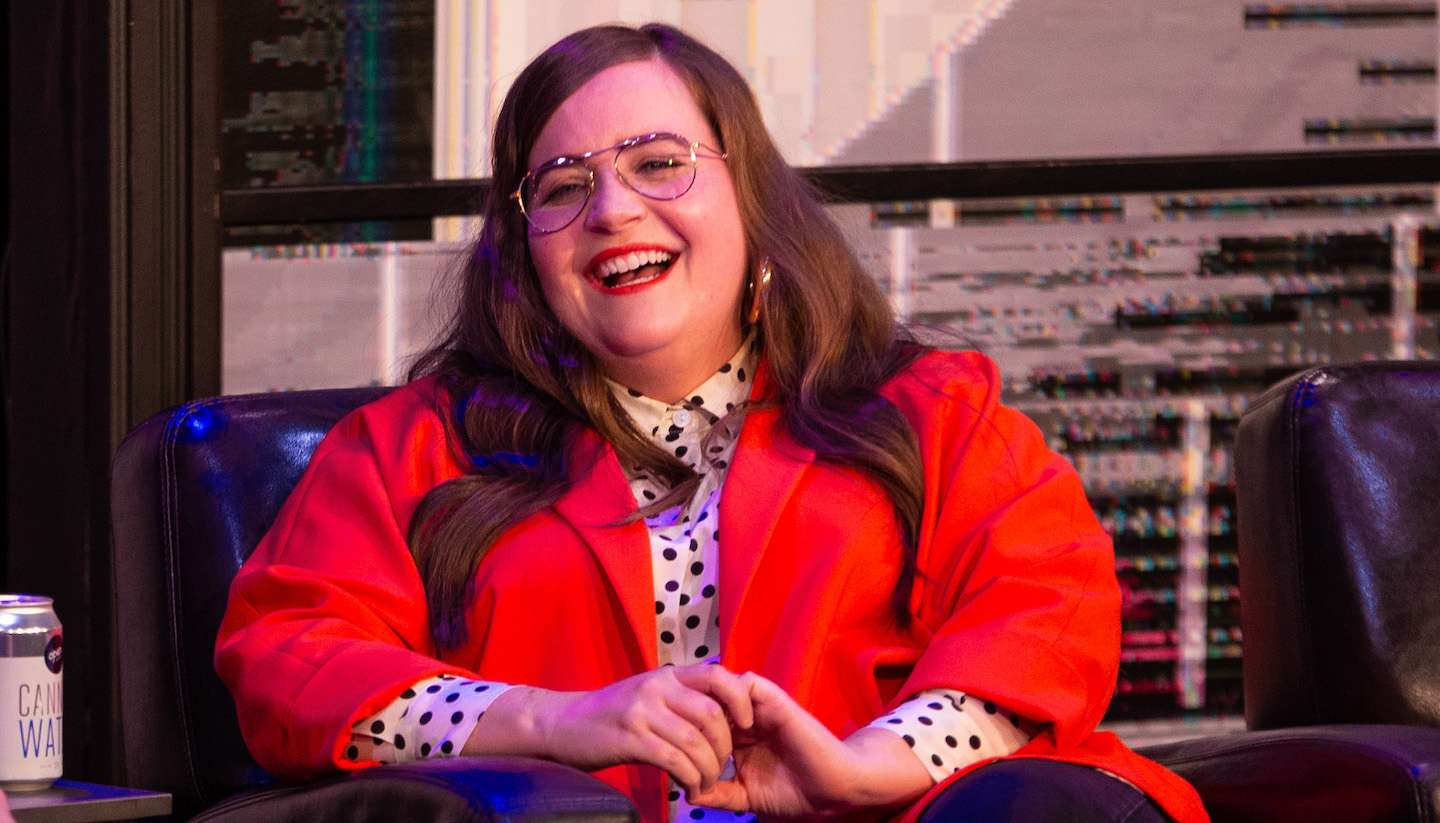 Aidy Bryant Brought Her Boss-Self Back to The Second City